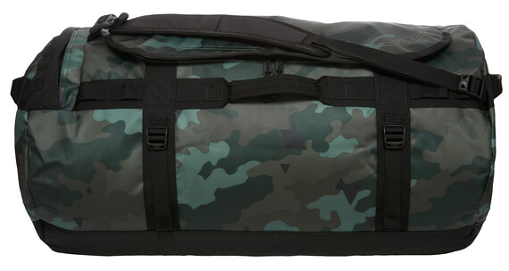 The North Face Base Camp Duffel L camo print/tnf black